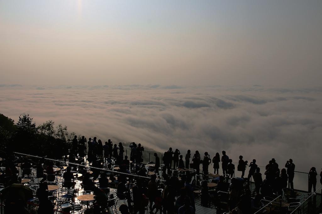 [北海道] 云海テラス.难得一见的大自然壮观景色 (tomamu 星野渡假村)