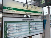 輕井澤車站(JR/信濃鐵道)