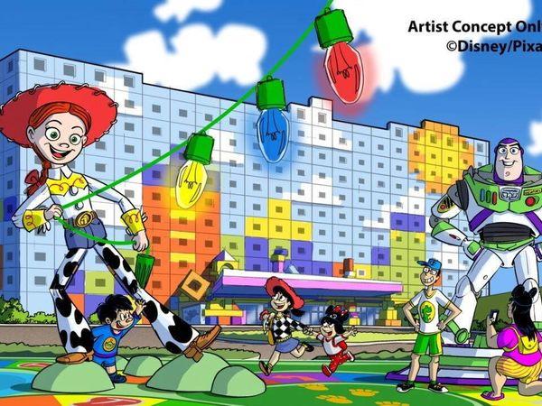 【東京迪士尼】2021年開幕!全新第5間「玩具總動員」主題酒店!