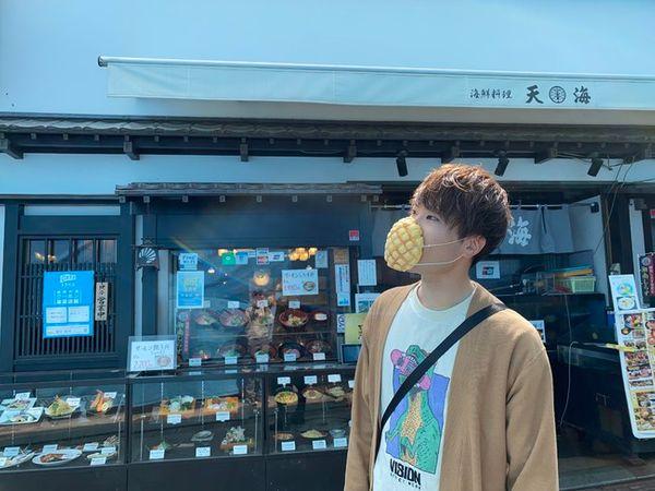 什麼?!日本居然推出好吃又能防疫的菠蘿麵包口罩!