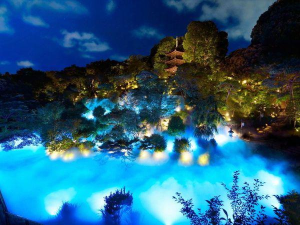來「東京椿山莊酒店」看「絕美雲海」!丹桂芳香x金木犀色夜間點燈也太夢幻了!