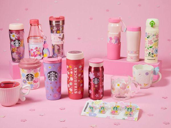 【2021星巴克櫻花系列】粉色狂熱!櫻花杯再推第二彈!