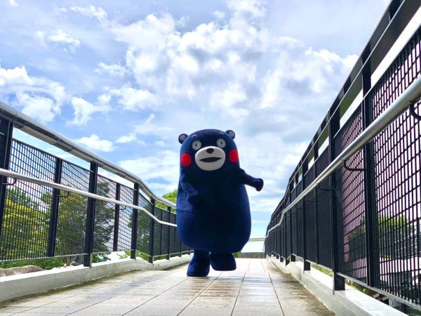 誒?你沒看錯「熊本熊」變色啦!東京奧運期間限定色「日本藍」替所有選手加油打氣!