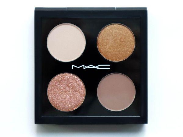 【日本限定】M·A·C 春天4色眼影盤!輕鬆化出立體輕盈的大地眼妝!