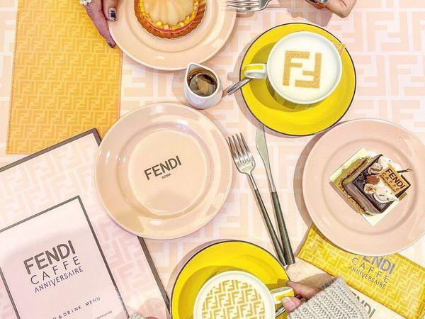 FENDI合作咖啡廳期間限定開設中!還有其他高級品牌咖啡廳,來吃下午茶享受當貴婦/公子!