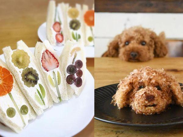 超美花朵般的水果三明治自己做!日本5個美食創意,跟著櫻花妹製作網美下午茶吧!