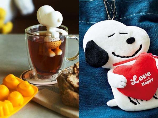 史努比茶葉過濾器和愛心掛飾可愛登場!日本雜誌附錄贈品精選