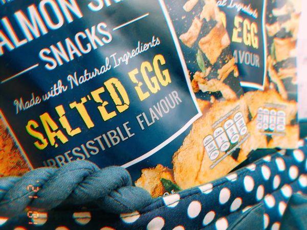「永恆選物」來自【泰國】食品大廠MUNDAY X 連鎖壽司SHUSHI-OO~鹹蛋鮭魚皮