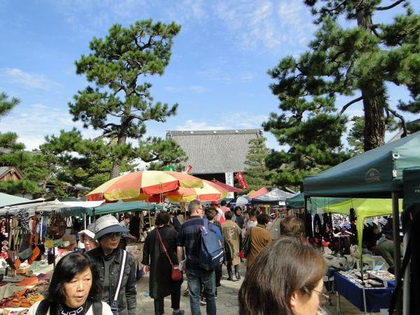 京都~百萬遍知恩寺手作市集,每月15日風雨無阻的超棒市集@金小光跟阿巧兒的趴趴走 (11327) - 旅行酒吧