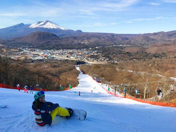 第一次滑雪就到日本長野的輕井澤王子滑雪場吧!自助滑雪攻略分享!