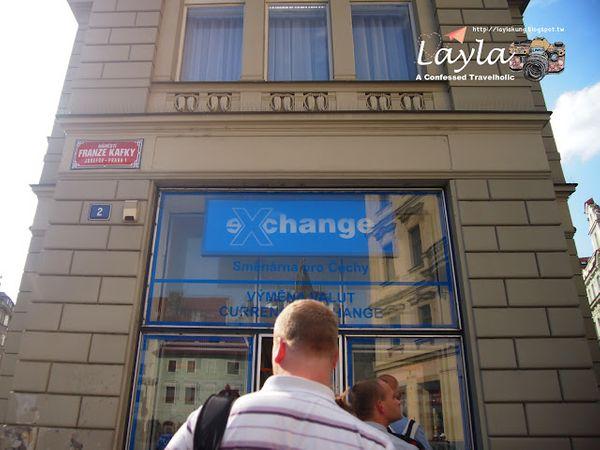 2017 暑假|捷克 Czech ✿ Day 2 - 1 ✿ 布拉格 Praha ► 連當地人都推薦、Praha 市區匯率最佳的換錢所 → eXchange