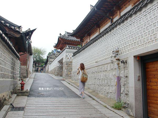 韓國首爾。安國站北村韓屋村、北村八景、三清洞街、먹쉬돈나 摩西年糕鍋