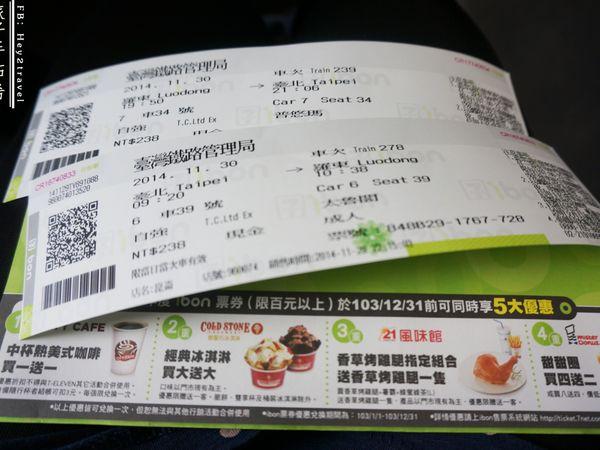 臺鐵購票好Easy 網上訂票 7-11 iBon即取票