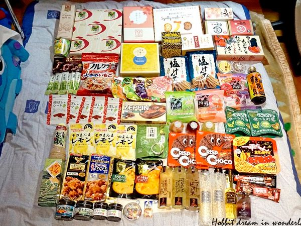 【戰利品】瀨戶內海/大阪戰利品(上)。零食/調味料好好買。就算跳島也要買到行李炸裂