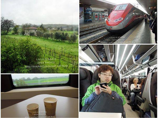 【歐洲鐵道攻略】義大利火車旅行:羅馬到佛羅倫斯火車記事