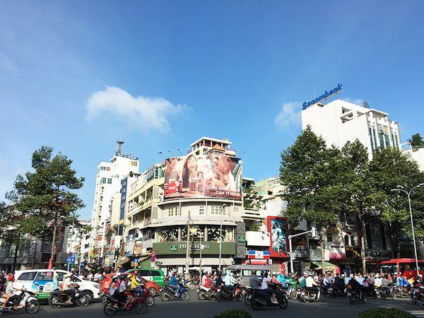 西貢,六百萬台機車的擁擠城市