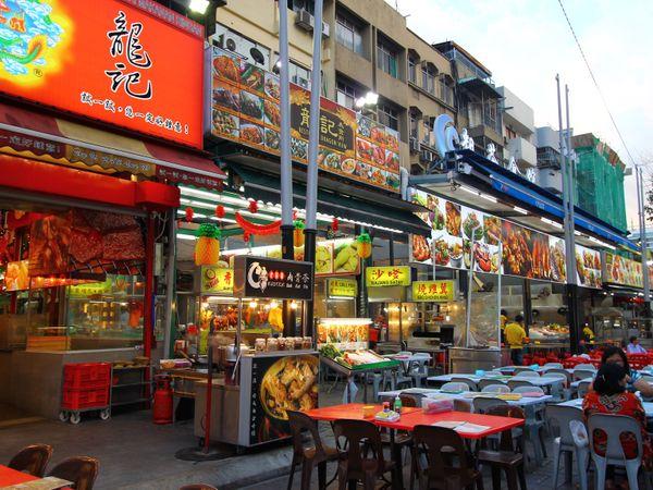 【馬來西亞|吉隆坡|美食】 最受歡迎夜市.亞羅街夜市.琳琅滿目的美食餐廳