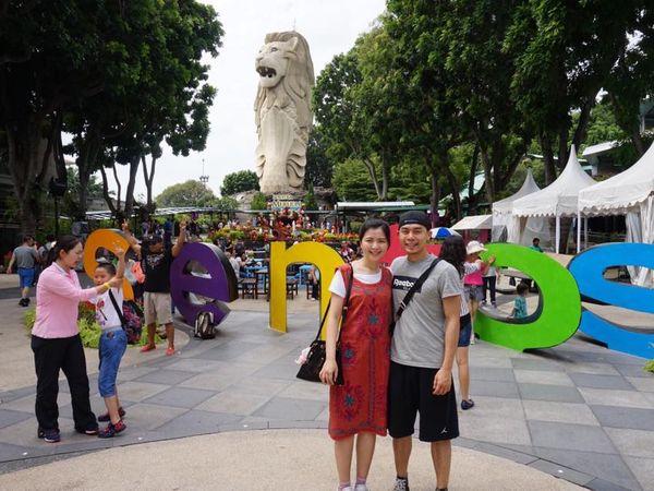 [新加坡]聖淘沙-超好玩刺激必玩斜坡滑車+空中吊椅