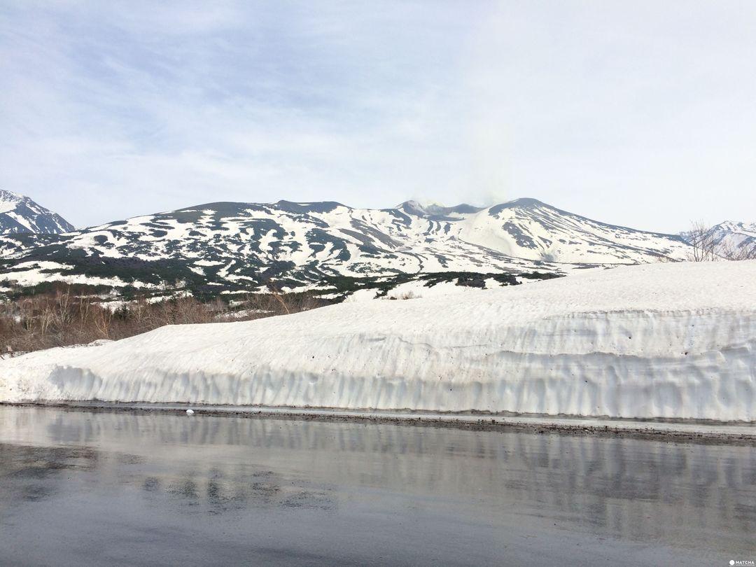 北海道下雪