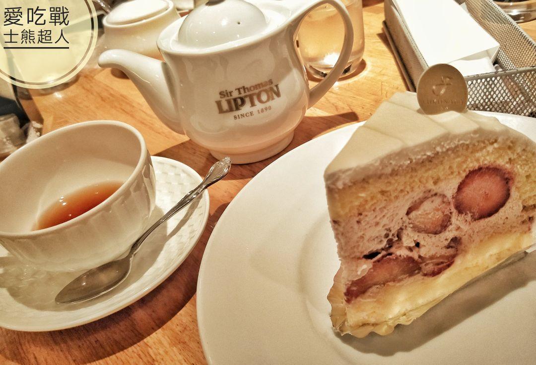 。京都 四条。LIPTON 立頓紅茶專賣:來去祉園四条吃個英式甜點囉^^