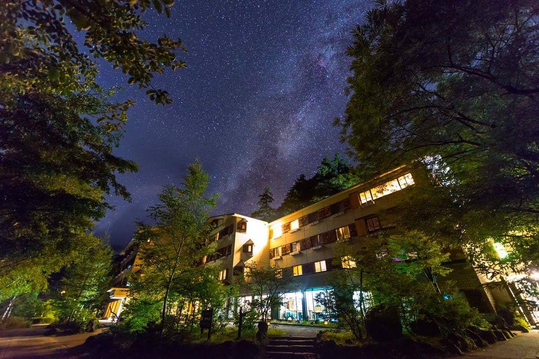 幾無光害的美麗星空 @上高地 Lemeiesta Hotel