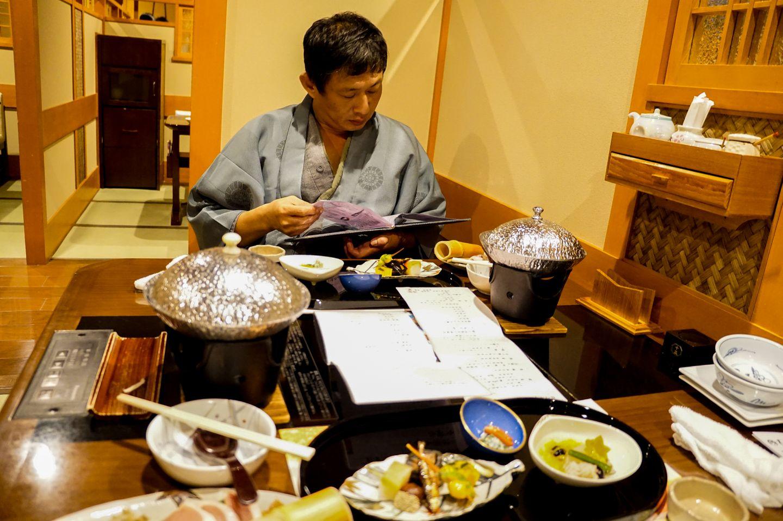 《京都2014秋。宿泊》嵐山嵐山温泉 花伝抄 一泊二食 - 食事+環境下篇